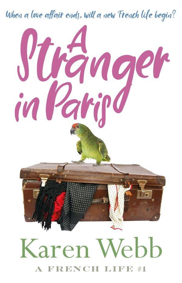 A stranger in Paris book cover