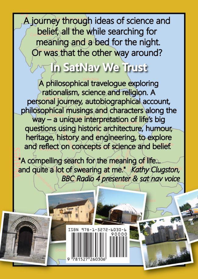 Book review & Blog Tour In SatNav We Trust