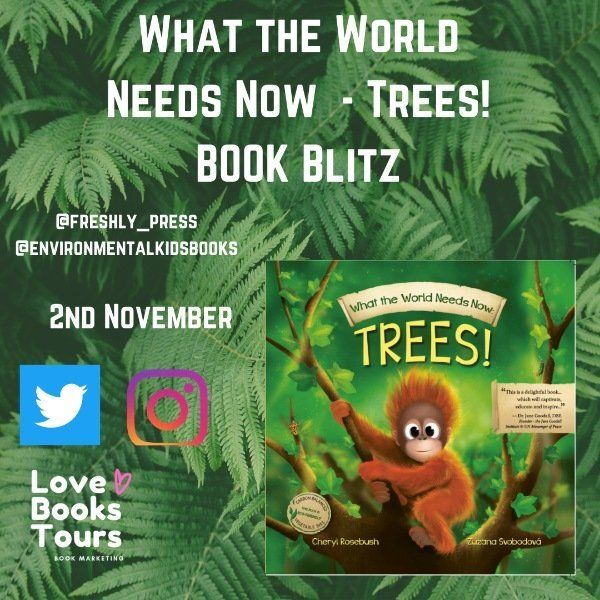 What the world needs now book blitz