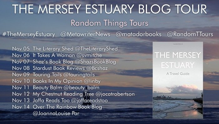 The Mersey Estuary A Travel Guide blog tour and book review