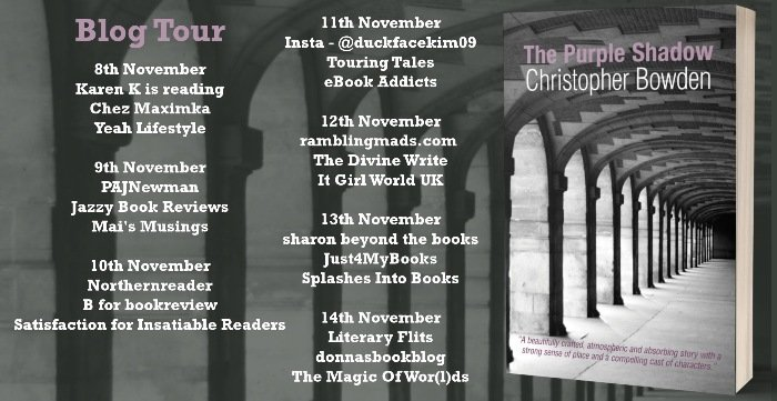 Book review The purple shadow by Christopher Bowden