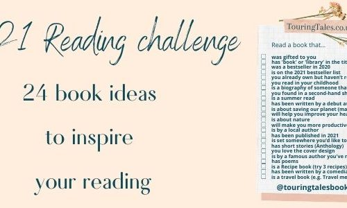 2021 reading challenge touring tales list