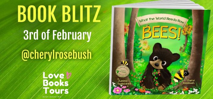 Banner Worlds Needs Bees Childrens Book