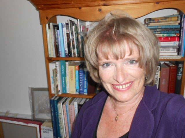 Author photo Celia Micklefield - Trobairitz The Storyteller