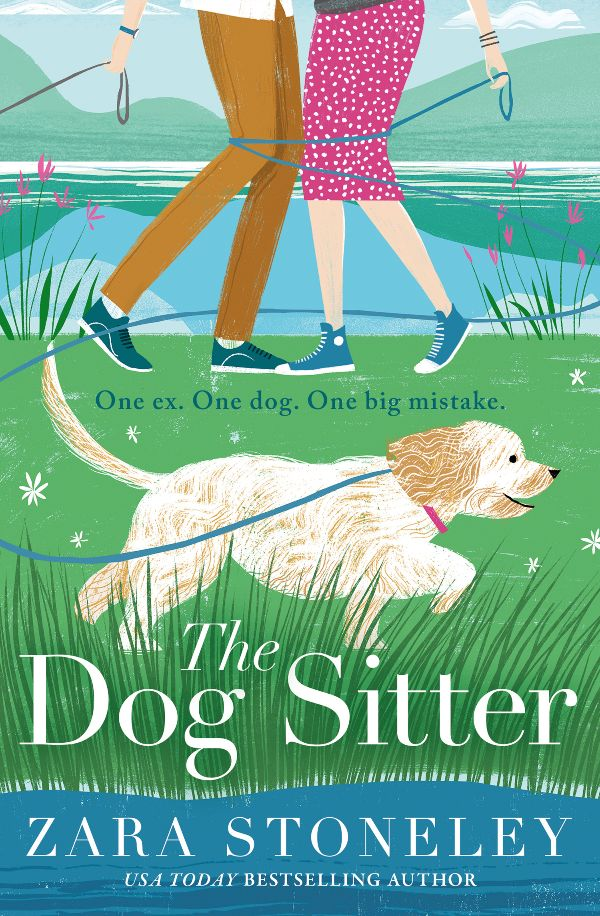 Five things Friday post - The Dog Sitter book recommendation
