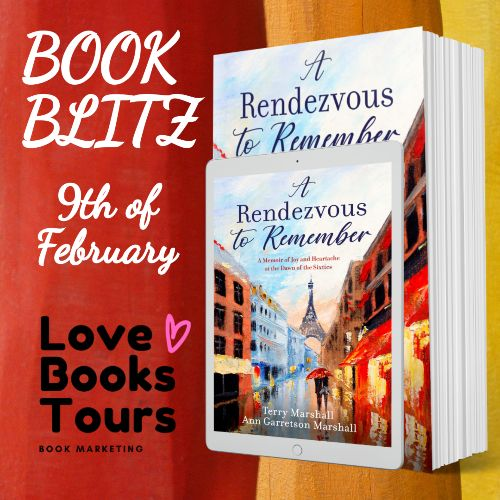 Rendezvous to Remember publication day book launch promotion poster
