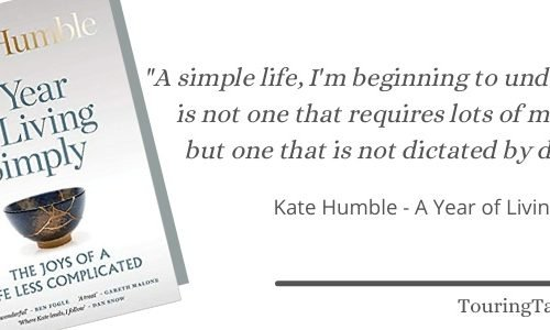 Book Review banner - Kate Humble book