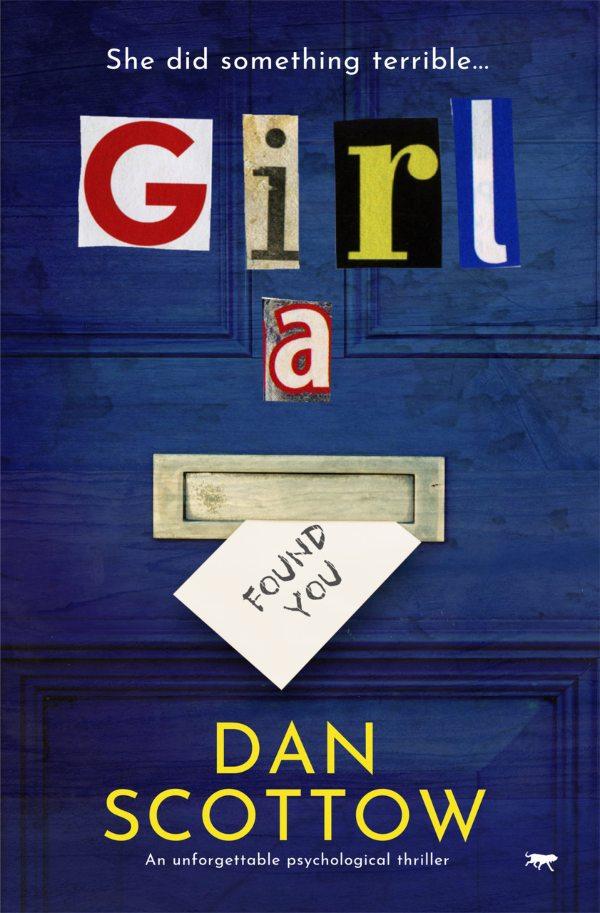 Book Cover Girl A Dan Scottow