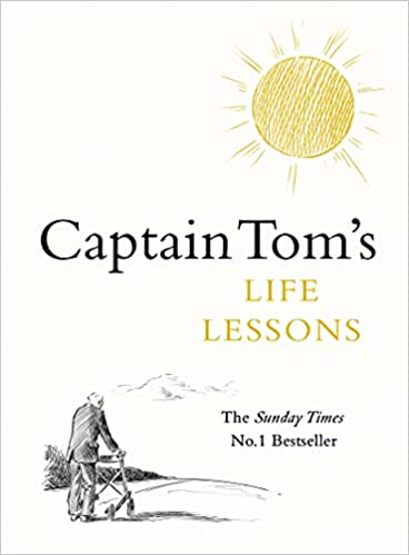 Captain Tom's Life Lessons, book cover. Book List item on Touring Tales Five Things Friday blog post.