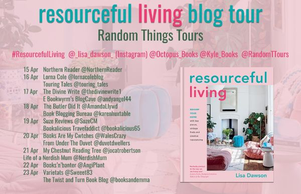 Book Review: Resourceful Living - Blog Tour banner
