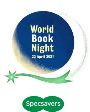 World Book Night Logo - added to Five Things Friday book list by Touring Tales Books