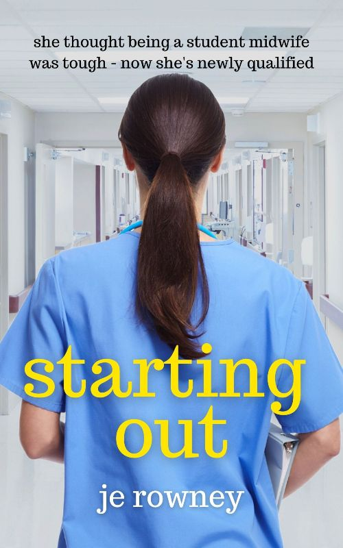 Book Cover Starting Out. Guest Post by JE Rowney.