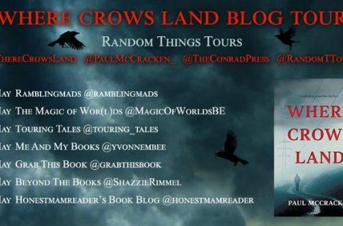 Blog Tour Banner Where Crows Land