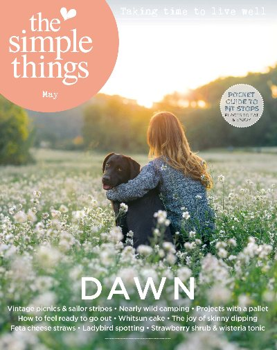 Cover of The Simple Things Magazine one of the Five Things Friday Book List of Things To Read