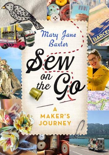 Book Cover and Book review of Sew On The Go by Mary Jane Baxter