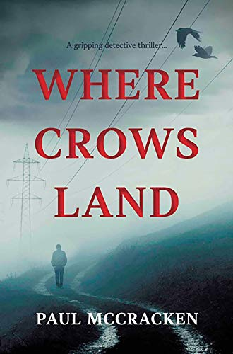 Book Cover of Where Crows Land - Author Q&A with Paul McCracken on Touring Tales Book Blog
