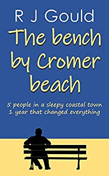 Bench by cromer beach by RJ Gould  - Buy the Book