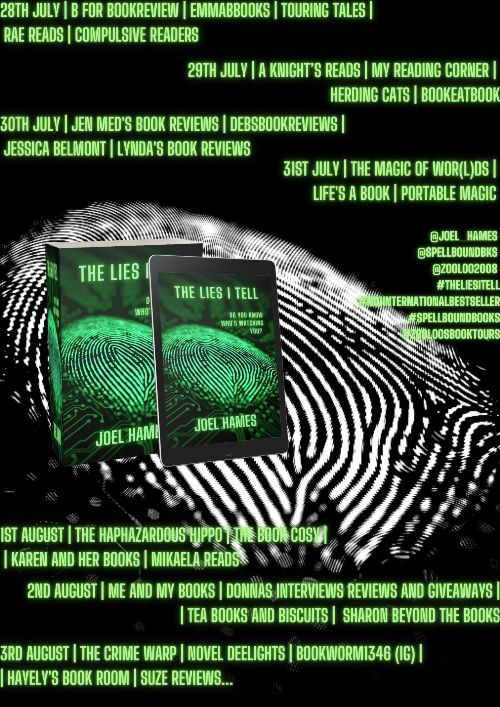 The Lies I Tell Joel Hames
