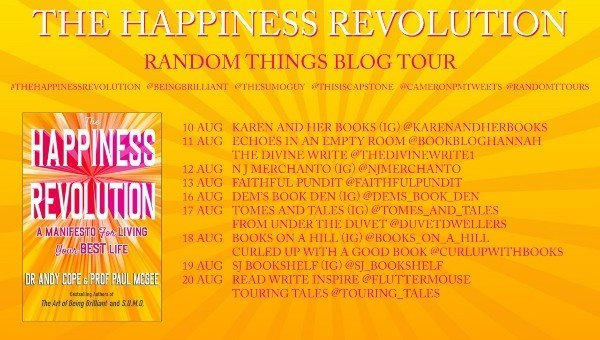The Happiness Revolution Book Blog Tour Banner