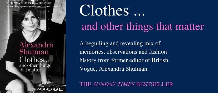 Clothes Alexandra Shulman