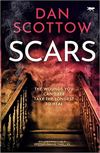 Book Cover Scars Dan Scottow - psychological thriller