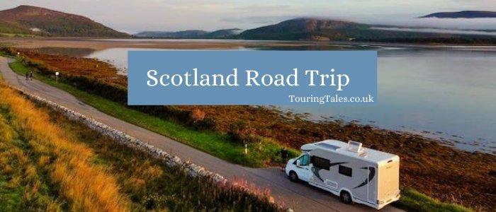Scotland road trip banner